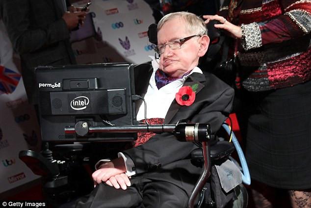 Nhà vật lý lý thuyết Stephen Hawking.