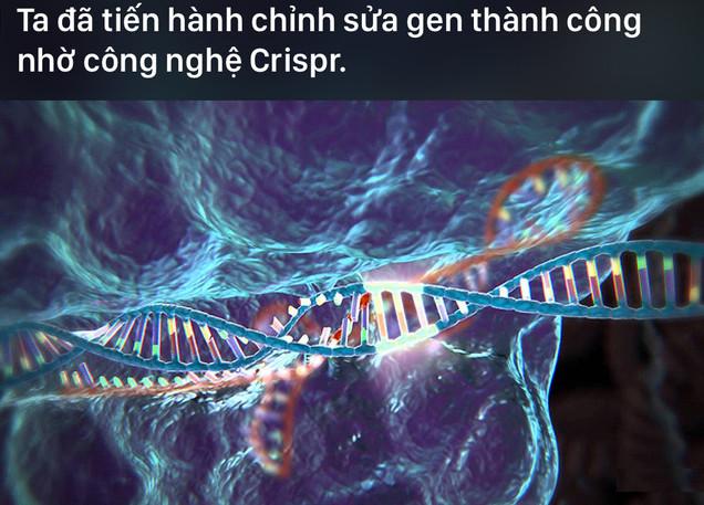 Công nghệ chỉnh sửa gene Crispr liệu có thể là chìa khóa bất tử cho con người?