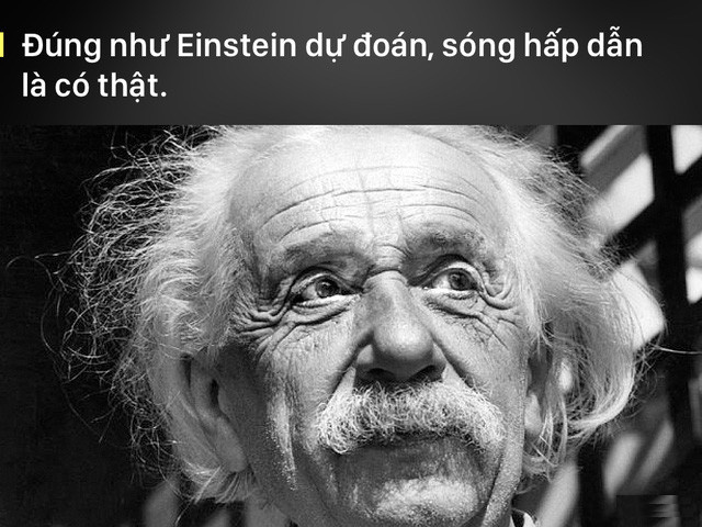 Albert Einstein đã đoán trước điều này hơn 100 năm.