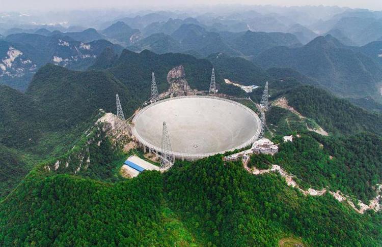 FAST là kính viễn vọng vô tuyến lớn nhất thế giới.