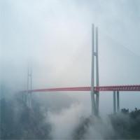 Đi xuyên mây giữa cây cầu cao nhất thế giới