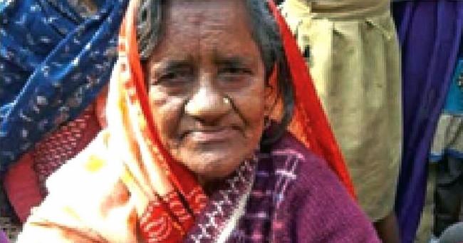 Bà Vilasa - người được cho là đã bị rắn cắn chết từ 40 năm trước.
