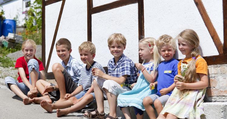 Các trường mẫu giáo ở Đức không được phân lớp theo độ tuổi, tất cả các em nhỏ ở đây đều được học chung một lớp.
