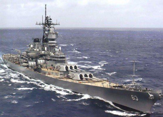 USS Missouri (BB-63) – thiết giáp hạm cuối cùng do Mỹ chế tạo