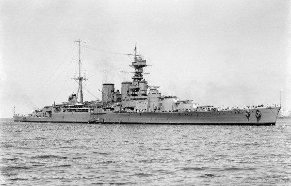 HMS Hood (51) – niềm tự hào của Hải quân Hoàng gia Anh