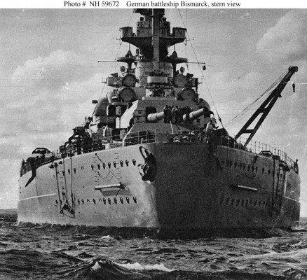 Bismarck – đối thủ lớn nhất của Hải quân Hoàng gia Anh