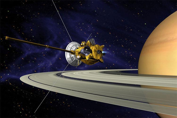 Tàu thăm dò Cassini.