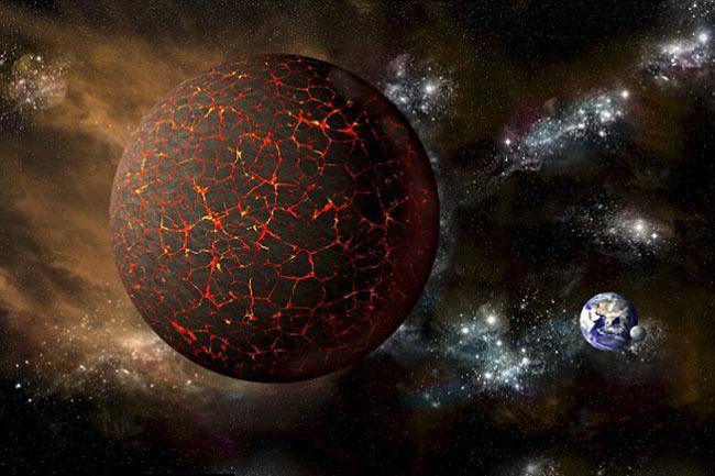 Hành tinh bí ẩn khổng lồ Nibiru được cho là sẽ đâm vào Trái đất vào tháng 10 này.