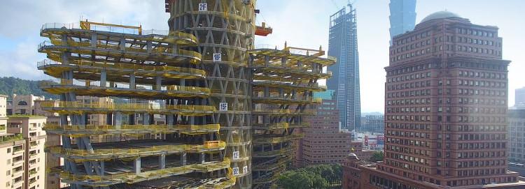 Tòa nhà hấp thụ khí co2 Tao Zhu Yin Yuan