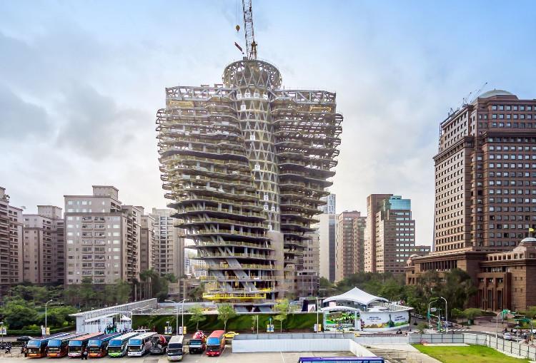 Thiết kế của tòa nhà Tao Zhu Yin Yuan.