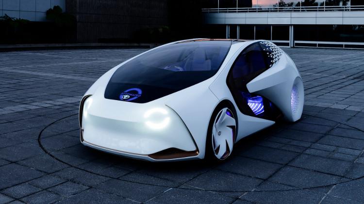 Mẫu xe Toyota Concept-i.