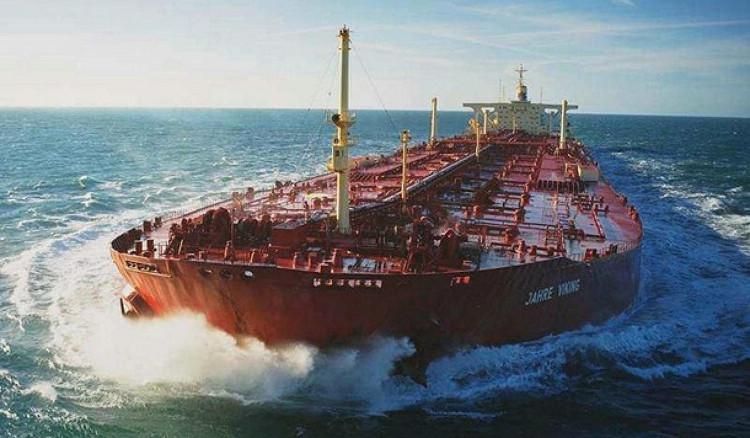 Jahre Viking tổng trọng tải mới là hơn 564.000 tấn.