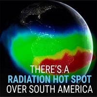 Video: Vùng dị thường làm vệ tinh ngừng hoạt động ở Nam Mỹ