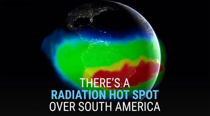 Các hạt năng lượng cao có hại tại khu vực này sẽ khiến vệ tinh ngừng hoạt động khi chúng bay qua.