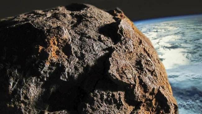 Thiên thạch 2017 AG13 được phát hiện muộn.