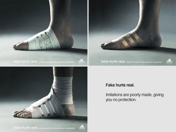 Mang những đôi giày không rõ nguồn gốc xuất xứ, đôi bàn chân của bạn sẽ không được bảo vệ một cách đúng nghĩa