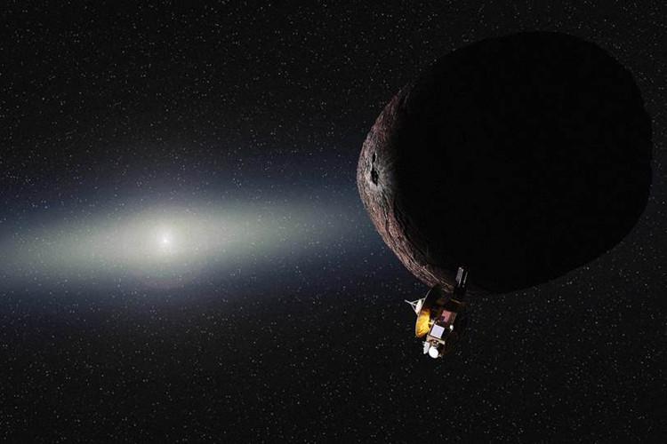 Tàu thăm dò New Horizons đang trên quỹ đạo tới tiểu hành tinh 2014 MU69.