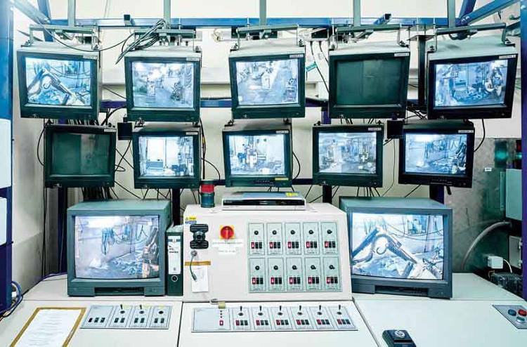 Đây là phòng điều khiển của BROKK 90