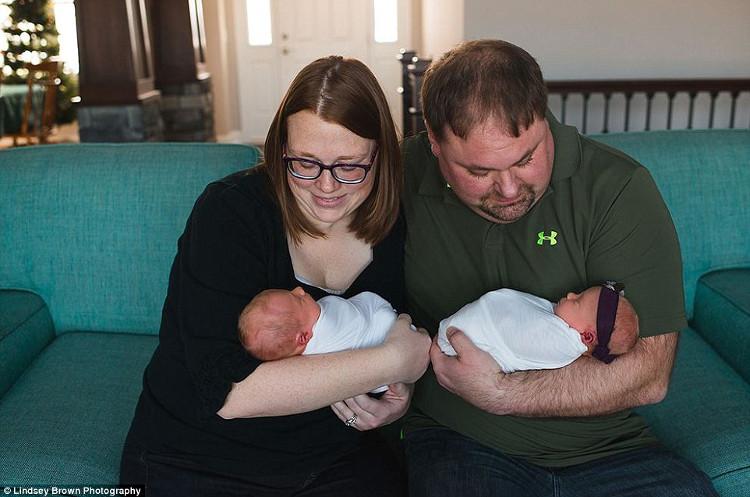Gia đình Lyndsay và Matthew Brentlinger