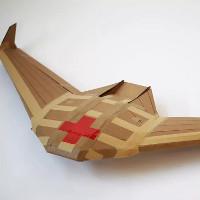 Drone làm bằng giấy có thể cứu giúp hàng triệu sinh mạng trong tương lai