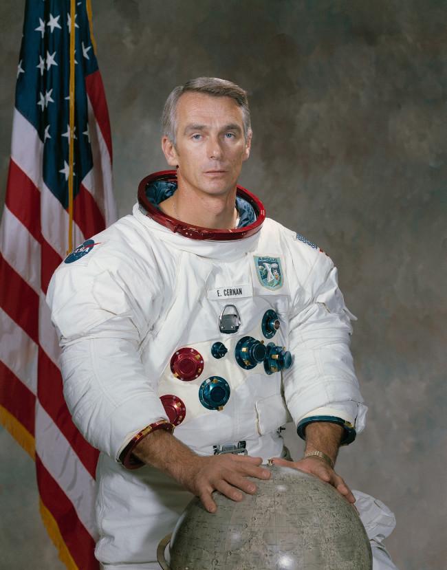 Cựu phi hành gia Eugene Cernan.