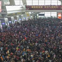 """""""Cuộc di dân"""" khổng lồ về quê ăn Tết ở Trung Quốc"""