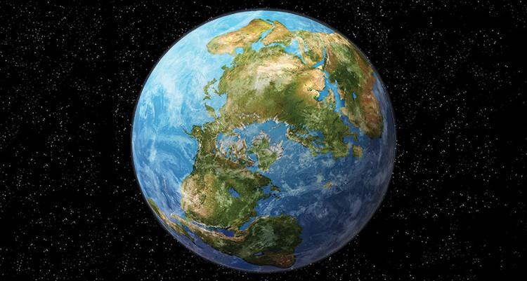 Châu Mỹ và châu Á có thể hợp nhất thành siêu lục địa mới mang tên Amasia.