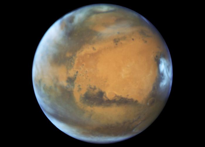 Một vài vi sinh vật có thể sống trên sao Hỏa.