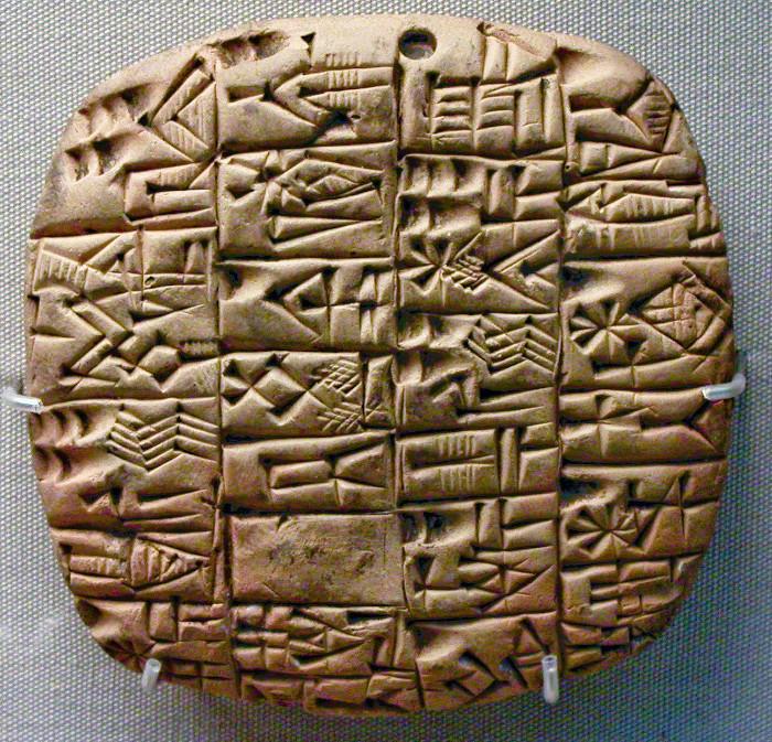 Hệ thống chữ hình nêm được tìm thấy trên hầu hết các khu vực tại quốc gia Iran và Irag.