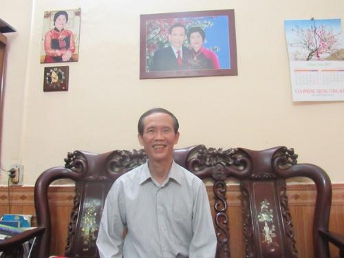 Ông Nguyễn Hào Hùng cho biết không thể thay thế cá chép bằng con vật nào khác trong ngày cúng ông Công ông Táo.
