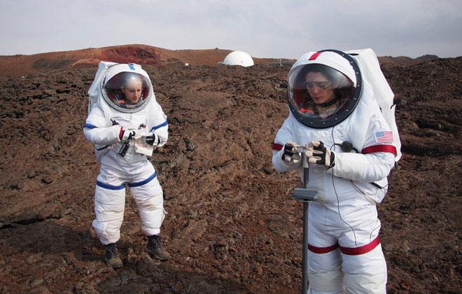 Các nhà nghiên cứu sẽ sống 8 tháng trong môi trường mô phỏng sao Hỏa.
