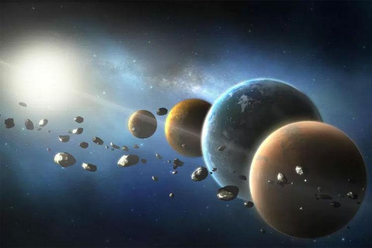 Tiểu hành tinh 16 Psyche chứa toàn sắt và niken trị giá 10 tỷ tỷ USD.