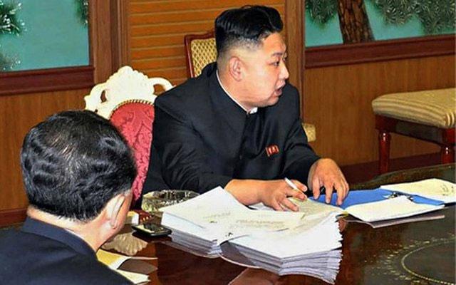 Nhà lãnh đạo Kim Jong Un