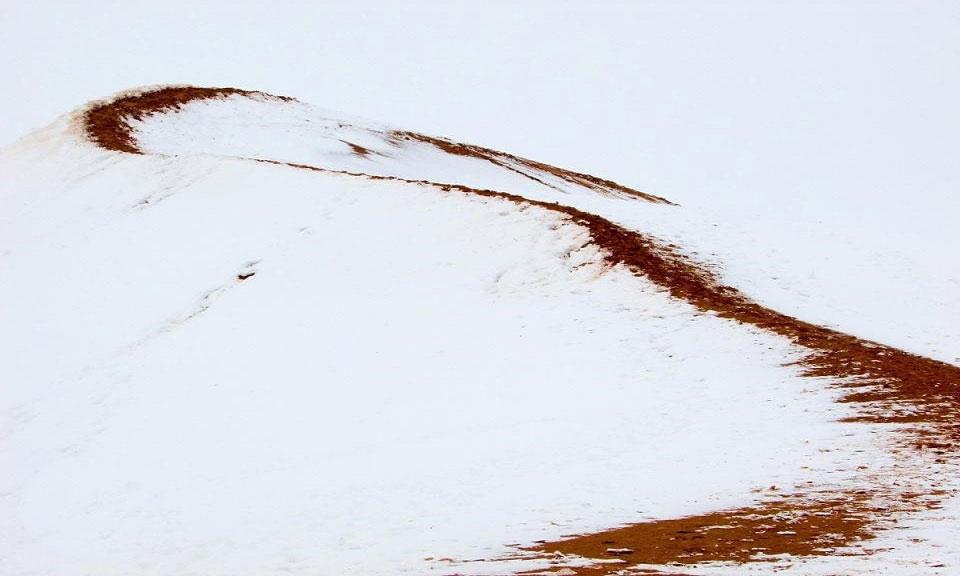 Trẻ em tận hưởng thời tiết lạnh giá bằng cách dựng người tuyết.