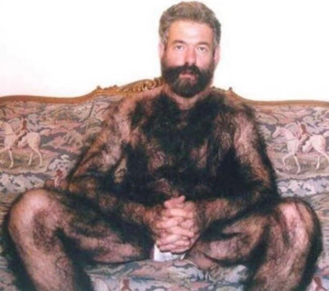 Những nam giới thuộc lục địa già thường có xu hướng rậm lông hơn các lục địa khác.