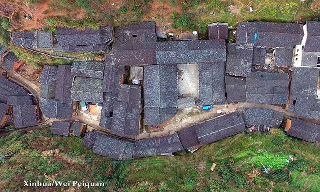Ngôi làng Đinh Ốc Lĩnh
