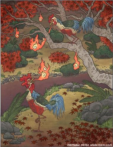 Basan là quái vật bí ẩn có hình dáng một con gà khổng lồ
