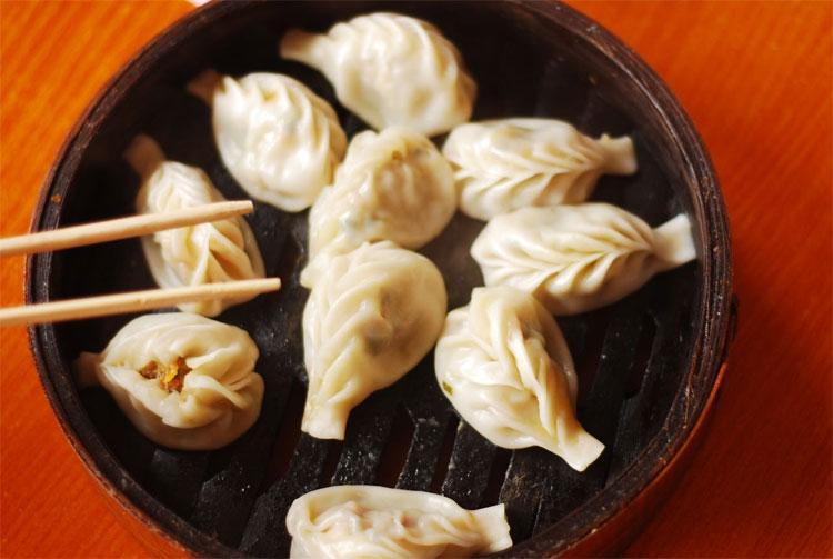 Há cảo là món ăn không thể thiếu đối với người Trung Quốc trong dịp năm mới.