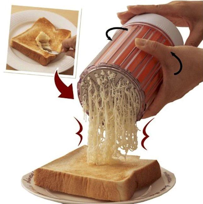 Với máy bào mini, bạn sẽ không phải lo tới việc bơ đóng cục vào mùa lạnh nữa.