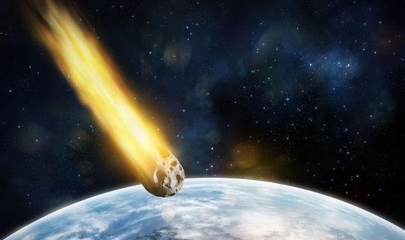 Thiên thạch khổng lồ sắp va vào Trái Đất