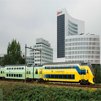 Toàn bộ tàu điện Hà Lan chạy bằng năng lượng gió