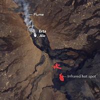 """""""Cổng địa ngục"""" ở Ethiopia chằng chịt vết nứt dài 7km"""
