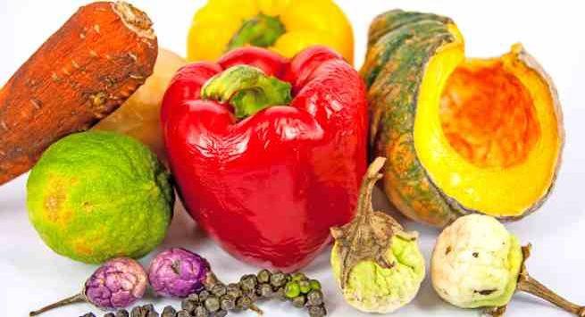 Rau trái cây đã mềm nhũn