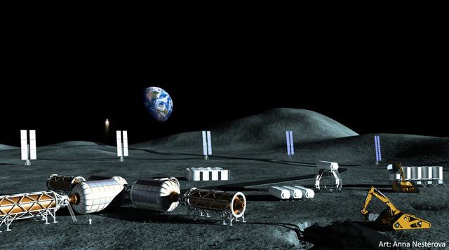 Một trong những mục tiêu khác của lần đổ bộ lên Mặt Trăng lần này của Moon Express là việc tìm kiếm nguồn nước tại đây.