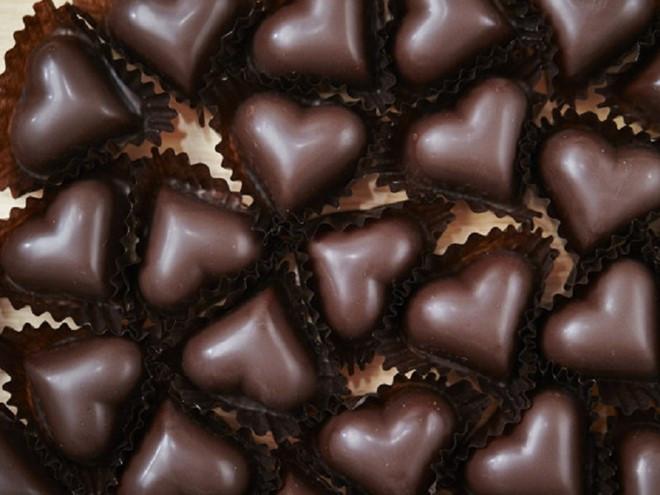 Chocolate rất tốt cho tim mạch.