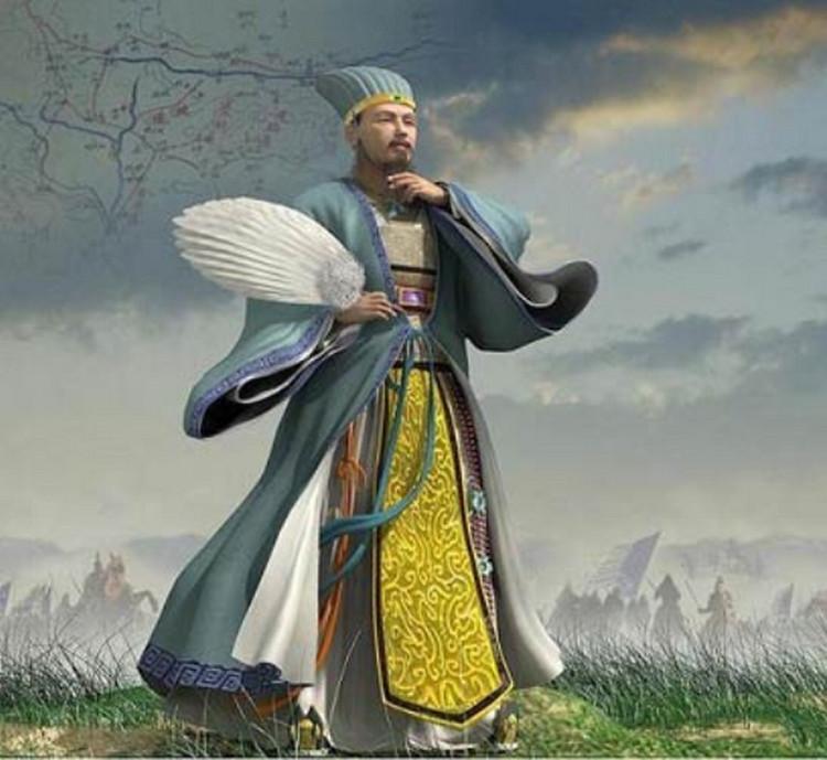 Chiếc quạt lông Gia Cát Lượng luôn mang bên mình là tín vật định tình cùng Hoàng Nguyệt Anh.