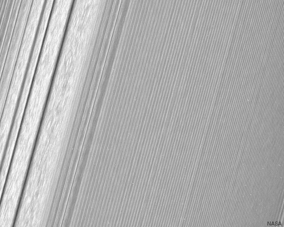 Những gì bạn nhìn thấy trong hình là vành đai A của Sao Thổ