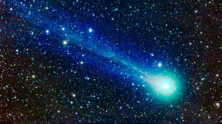 """Cứ mỗi 5 năm, sao chổi 45P sẽ lại """"tìm đường"""" trở về phía trong Hệ Mặt trời."""