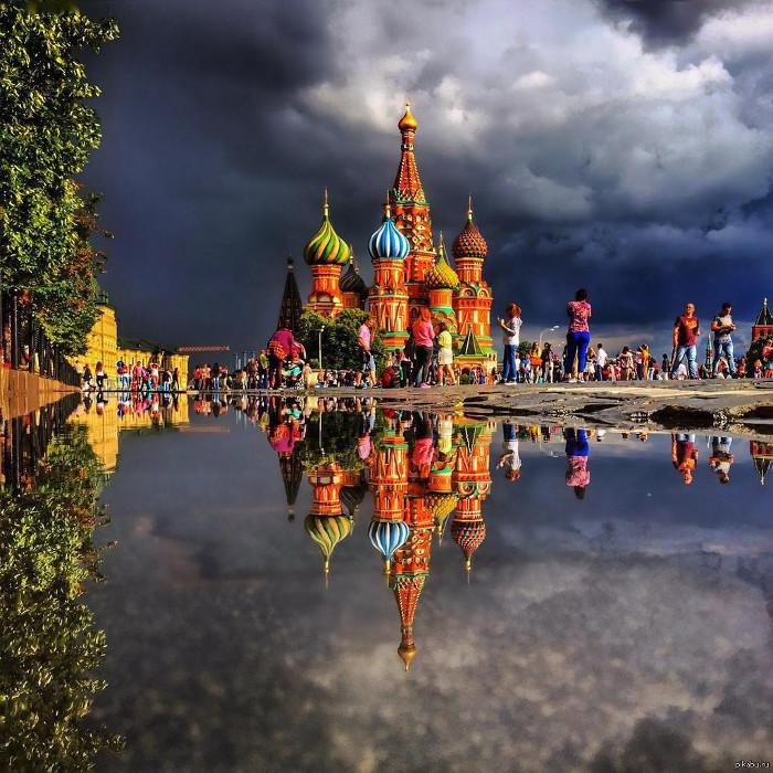 Hình ảnh nhà thờ thánh Basil, Nga đẹp lộng lẫy