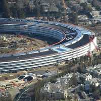 Tổng hành dinh mới Apple đạt tới giới hạn hoàn hảo của thi công